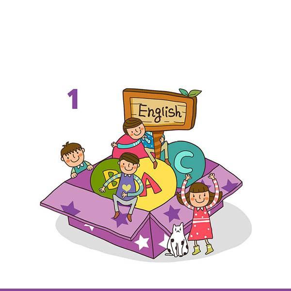 اللغة الإنجليزية - للصف الأول الإبتدائي - الفصل الدراسي الأول
