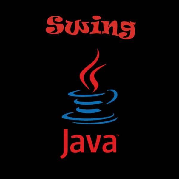JAVA Swing GUI جافا الواجهات الرسومية