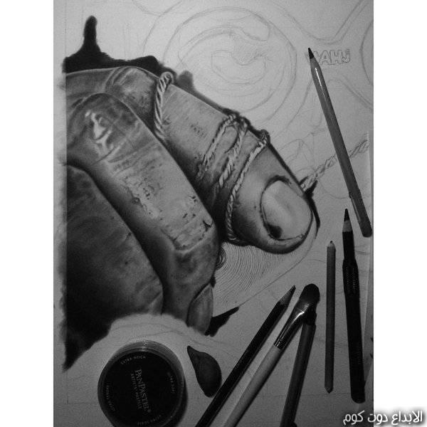 دورة تعليم الرسم بالفحم