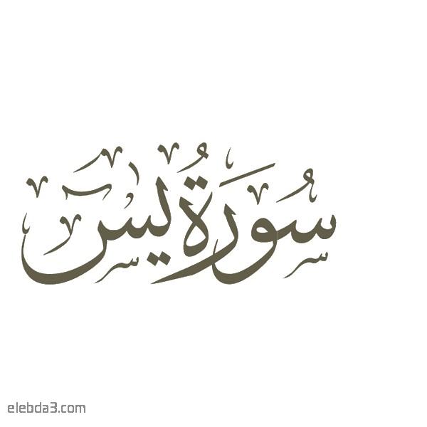 تفسير سورة  يس للشيخ الشعراوي
