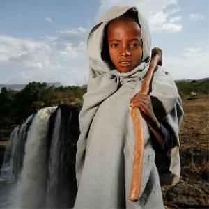 اثيوبيا على الاقدام